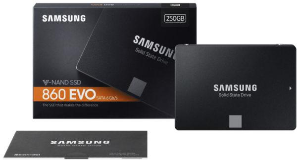 Samsung SSD EVO 250 GO