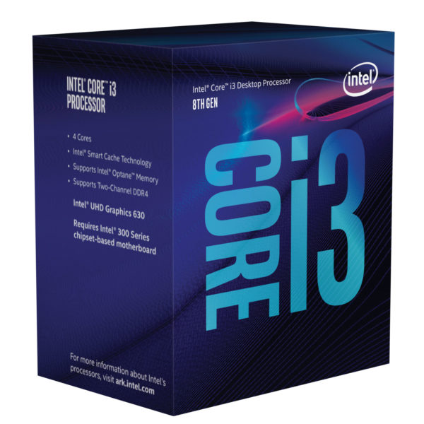 Intel Core i3 8100 3.6 GHz