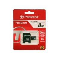 Carte micro SD Transcend 8GB