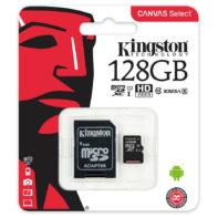 Carte Micro SD Kingston 128GB class 10