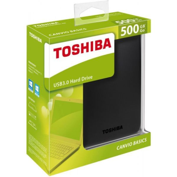 Disque dur externe Toshiba 500GO