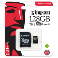 Carte Micro SD Kingston 128GB class 10