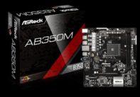 ASROCK AB350M Micro ATX